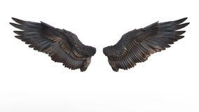 Dämon-Flügel stock abbildung