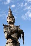 Dämon-Skulptur Lizenzfreie Stockbilder
