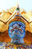 Dämon von Wat Phrakaew Grand Palace Bangkok Lizenzfreie Stockbilder