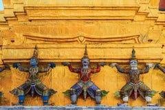 Dämon-Wächter von Wat Phra Kaew In Bangkok Stockbild