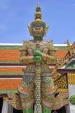 Dämonschutz von Wat Phrakaew Grand Palace Bangkok Lizenzfreies Stockfoto