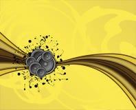 dämpad högtalareswoosh vektor illustrationer
