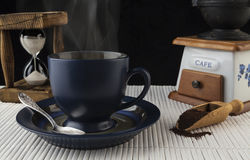 Dämpfender Kaffee Stockbilder