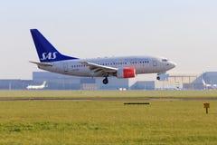 Dämpfungsregler Boeing 737 Lizenzfreies Stockbild