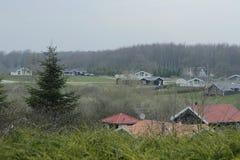 Dänemark auf Langeland Stockfotos