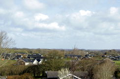 Dänemark auf Langeland Stockfotografie
