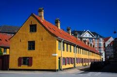 Dänemark-Haus Lizenzfreie Stockbilder