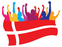 Dänemark lockert Abbildung auf lizenzfreie abbildung