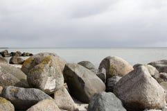 Dänemark am Strand Lizenzfreie Stockfotos