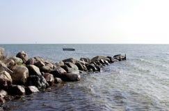 Dänemark am Strand Lizenzfreie Stockfotografie