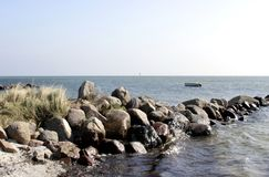 Dänemark am Strand Lizenzfreies Stockbild