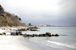 Dänemark am Strand Lizenzfreie Stockbilder