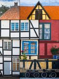 Dänische Gebäudeart Stockfotografie