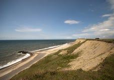 Dänische Küstenlinie Lizenzfreie Stockfotografie