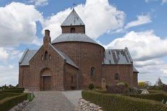 Dänische Kirche Lizenzfreie Stockfotos