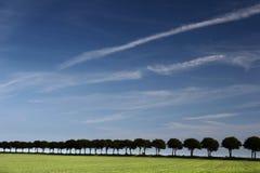 Dänische Landschaft lizenzfreie stockbilder
