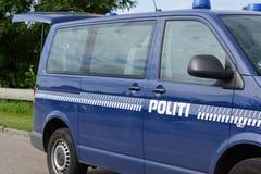 DÄNISCHE POLIZEI Stockbilder