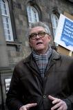 DÄNISCHE PROTEST-SAMMLUNG MIT SIGNTURES Lizenzfreie Stockfotos