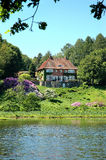 Dänische Villa Lizenzfreies Stockfoto
