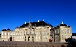 Dänischer königlicher Palast Lizenzfreie Stockfotografie