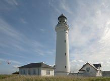 Dänischer Leuchtturm Stockfotos