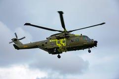 Dänischer Rettungs-Hubschrauber M-504 Stockbild