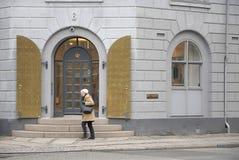 DÄNISCHES GEBÄUDE DER GESUNDHEITS-MINISTY Lizenzfreie Stockfotos