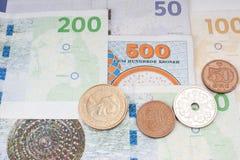 Dänisches Geld Stockfotografie