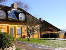 Dänisches Häuschen Stockfoto