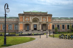 Dänisches National Gallery in Kopenhagen, Dänemark Stockbilder