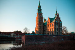 Dänisches Schloss lizenzfreie stockbilder