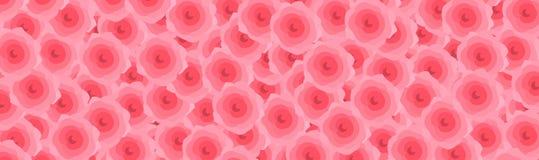 Długi menchii róży tło w pastelowego koloru stylu tekstury tle Miłość, walentynka dnia dodatek specjalny Używa dla Ilustracyjnego ilustracji