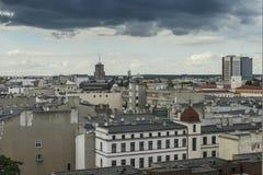 Dź del ³ del  à della città Å in Polonia immagine stock
