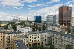 Dź do ³ do  à da cidade Å no Polônia imagem de stock royalty free