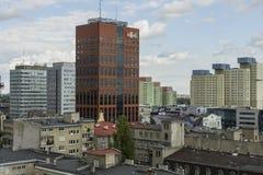 Dź do ³ do  à da cidade Å no Polônia imagem de stock