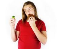dålig eater Arkivbilder