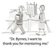 dålig mentor Royaltyfri Bild
