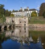 Dålig Pyrmont slott, en barock summerresidence i lägre Sachsen Royaltyfria Foton
