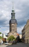 Dåliga Schandau, anglosaxare Schweiz, Tyskland Royaltyfri Fotografi