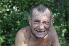 Dåliga tänder, leende Royaltyfria Bilder