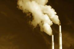 dåliga utsläpp royaltyfri bild