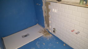 Dåligt badrum royaltyfri bild