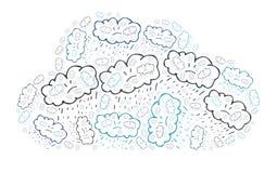 Dåligt väder Arkivfoton