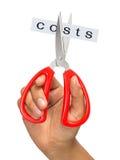 Costes del corte foto de archivo libre de regalías