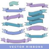 Dé las cintas exhaustas ilustración del vector