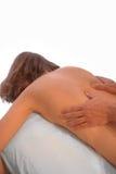 Dé masajes a las manos Imagen de archivo
