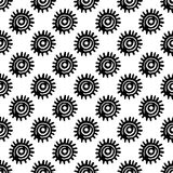 Dé a vector exhausto el modelo inconsútil con la muestra tribal étnica Bosquejo para su diseño, wallaper, materia textil, impresi foto de archivo