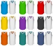 Débardeurs de basket-ball, uniforme de basket-ball, sport Illustration Libre de Droits
