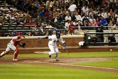 Débiteur de base-ball de Johan Santana - de Mets Images libres de droits