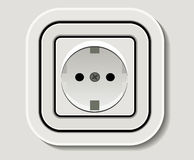 Débouché électrique Photographie stock
